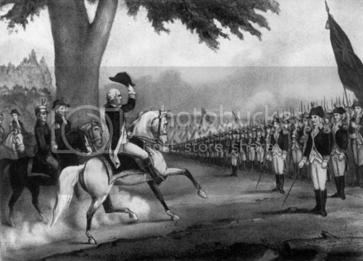 Washington Taking Control of the American Army