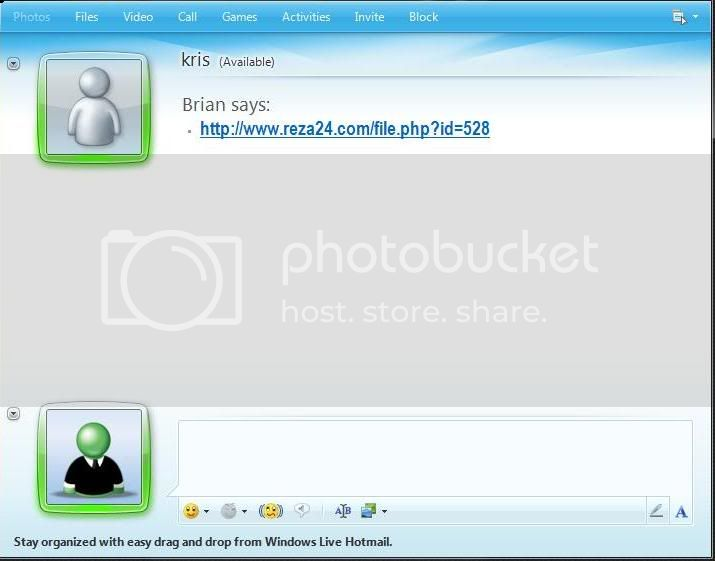 ip7 How to get the IP address using MSN/Yahoo/Pidgin messenger